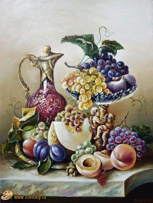 Дыня с фруктами